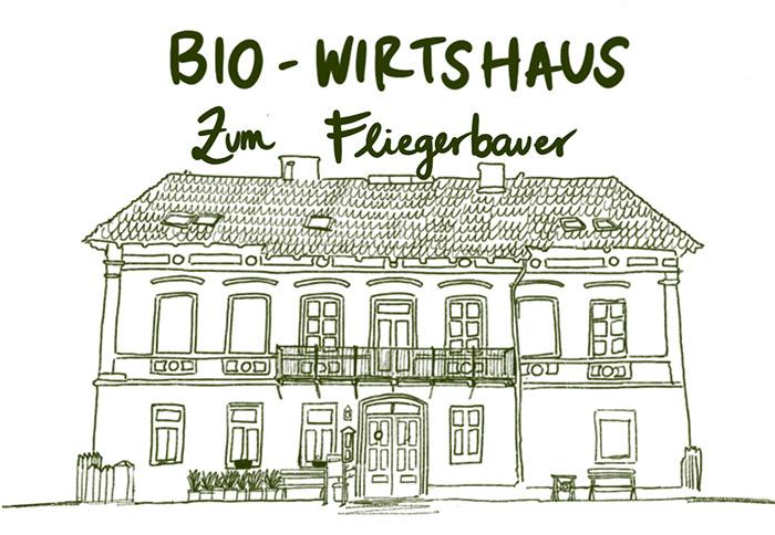 Logo Fliegerbauer Passau, Bio Wirtshaus